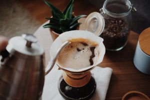 Pour-over filter coffee