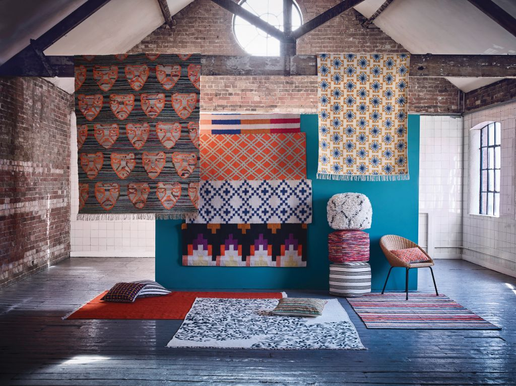 Modern folk patterns - Accentuate your home décor this season with eclectic interior choice
