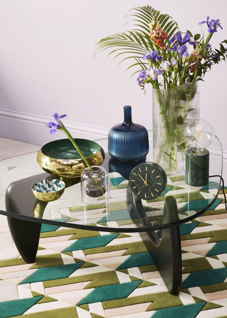Maximalist rug - Get interior inspiration with these three décor tips from John Lewis