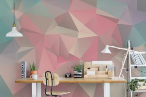 Feature wall - Introducing geometric organics in your living space