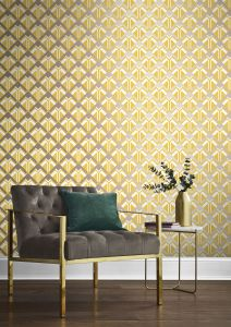 Transformation feature wall - 2019 interior trends