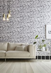 Lagom feature wall - 2019 interior trends