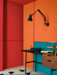 Saturated colour - AW18 trends