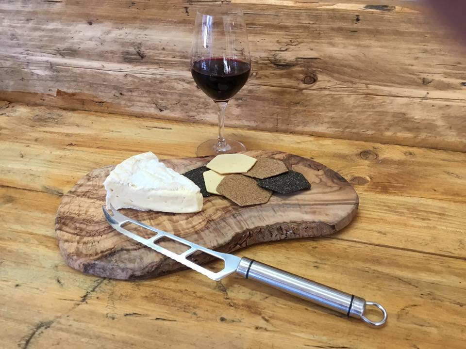 Once Upon A Vine - cheese and wine